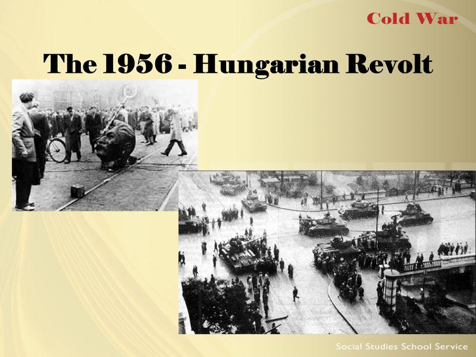 The 1956 - Hungarian Revolt