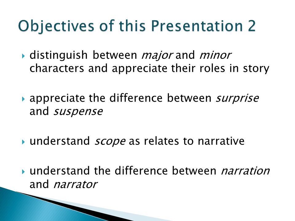 Objectives of this Presentation 2