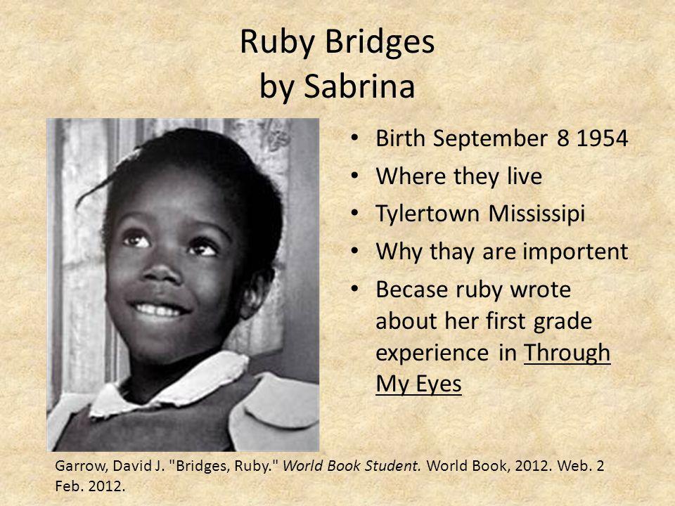 Ruby Bridges by Sabrina