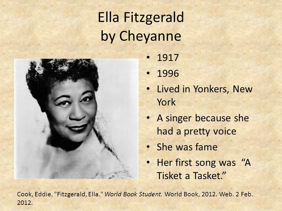 Ella Fitzgerald by Cheyanne