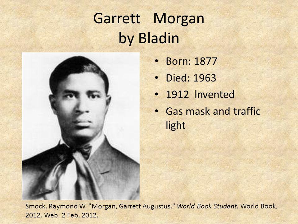 Garrett Morgan by Bladin