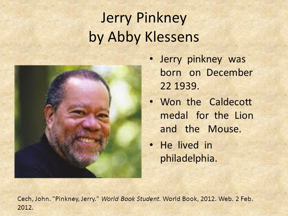 Jerry Pinkney by Abby Klessens