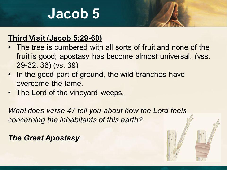 Jacob 5 Third Visit (Jacob 5:29-60)
