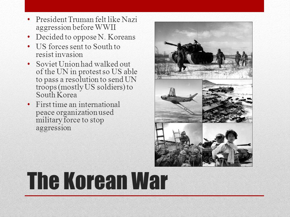 The Korean War President Truman felt like Nazi aggression before WWII