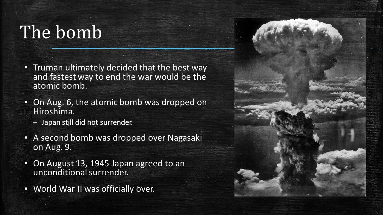 the causes that led to the decisions of the dropping of the atomic bomb in bombs cities and civilian First, the us dropped leaflets on both cities prior to the dropping of the atomic bomb telling citizens to evacuate second, both targets had legitimate defense industries and military installations third, during ww2, bombing cities (with possible civilian casualties) wasn't regarded as a war crime (except when the japanese tried and convicted some.