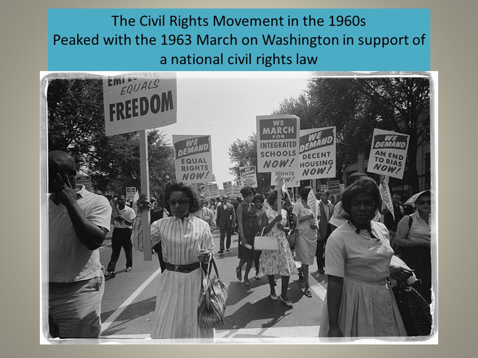 The Civil Rights Movement in the 1960s
