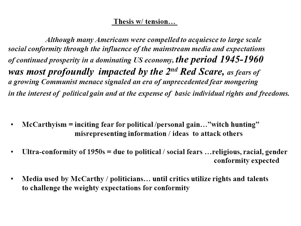 was most profoundly impacted by the 2nd Red Scare, as fears of