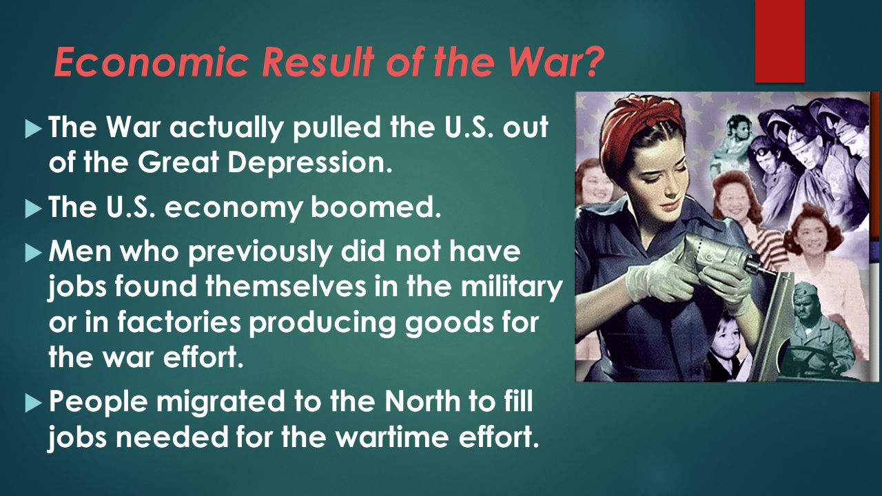 Economic Result of the War