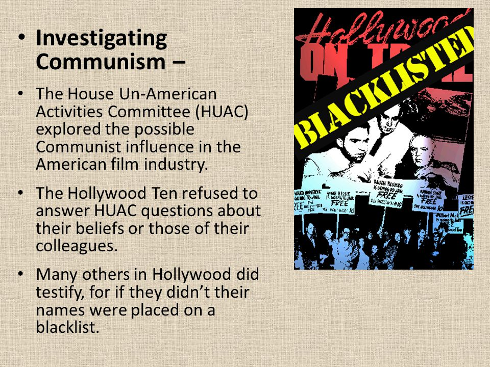 Investigating Communism –