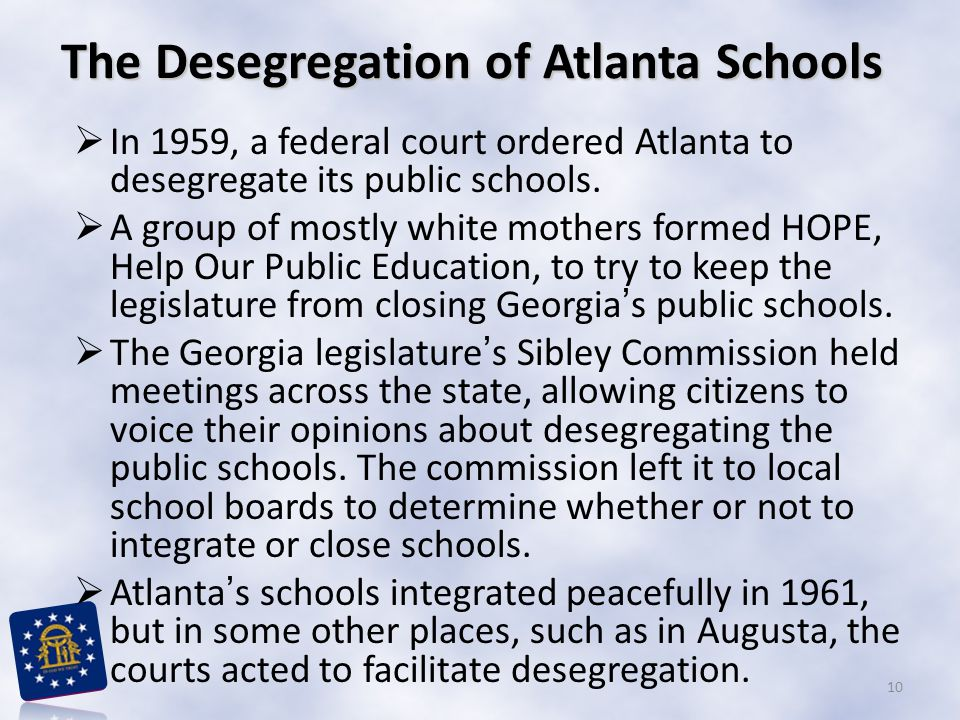 The Desegregation of Atlanta Schools