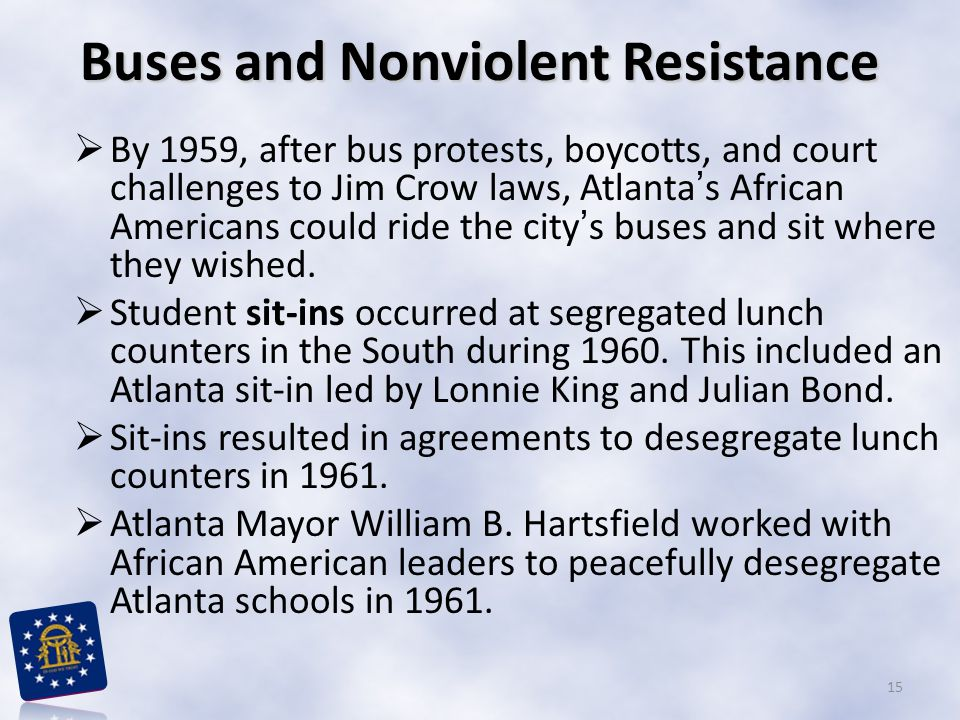 Buses and Nonviolent Resistance