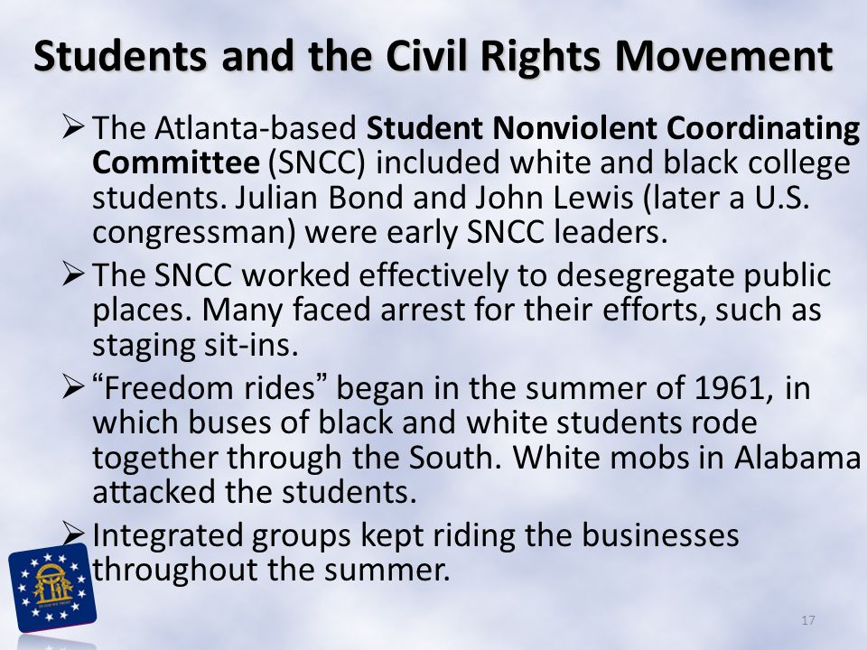 Students and the Civil Rights Movement