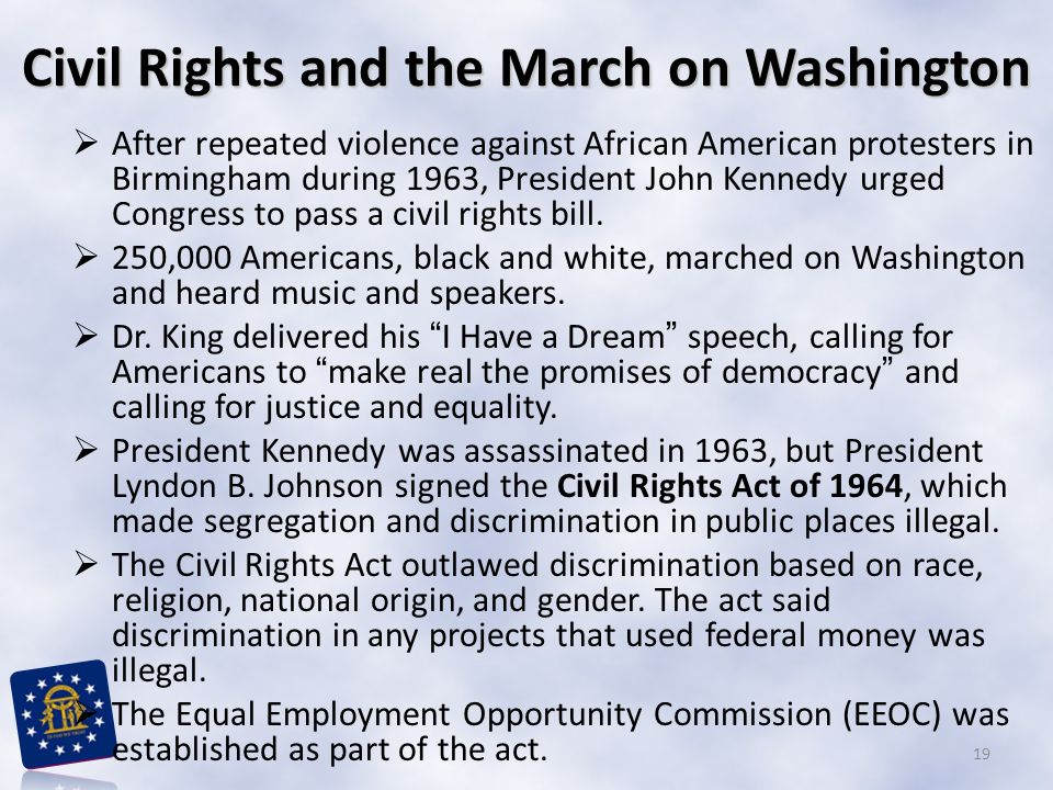 Civil Rights and the March on Washington
