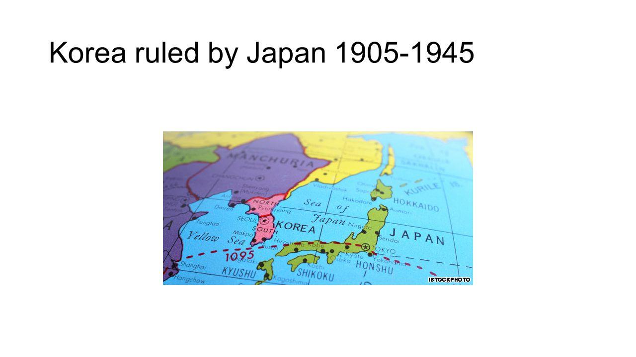 Korea ruled by Japan 1905-1945
