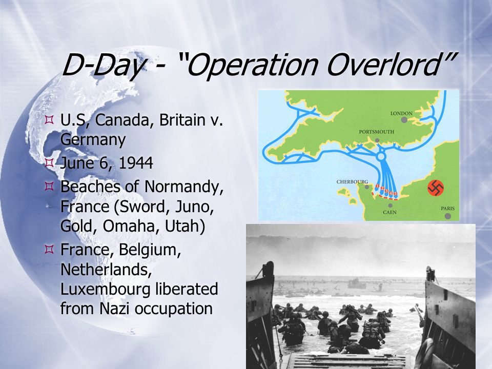D-Day - Operation Overlord