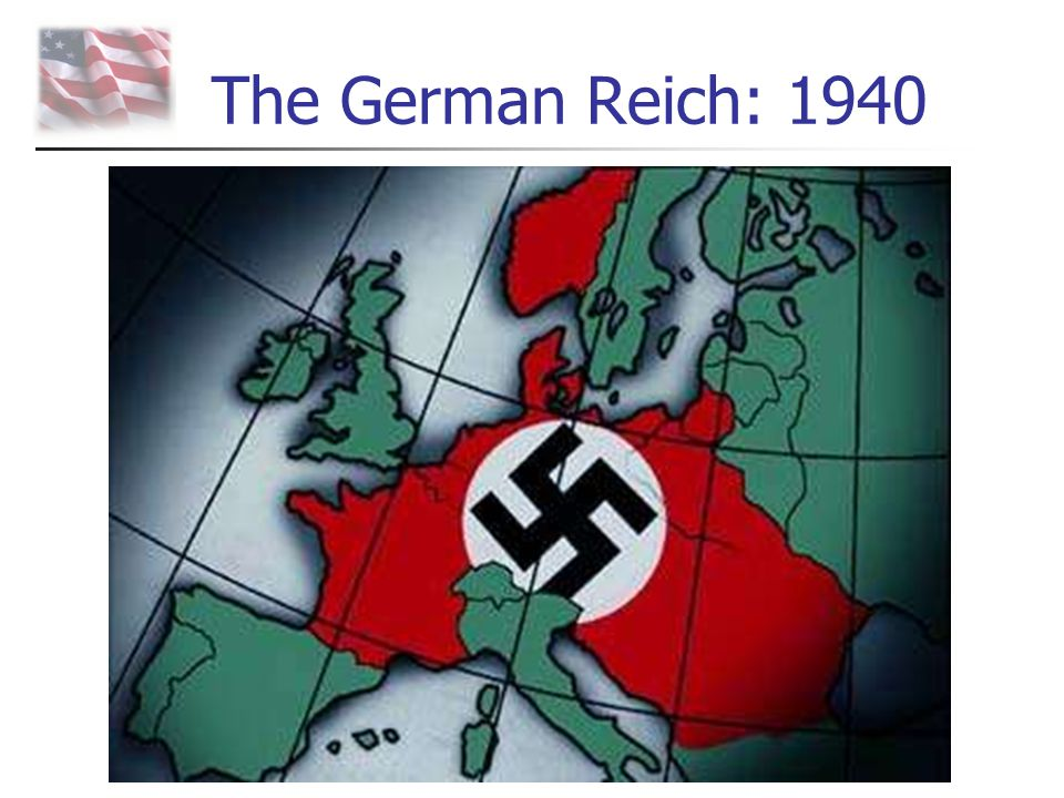 The German Reich: 1940