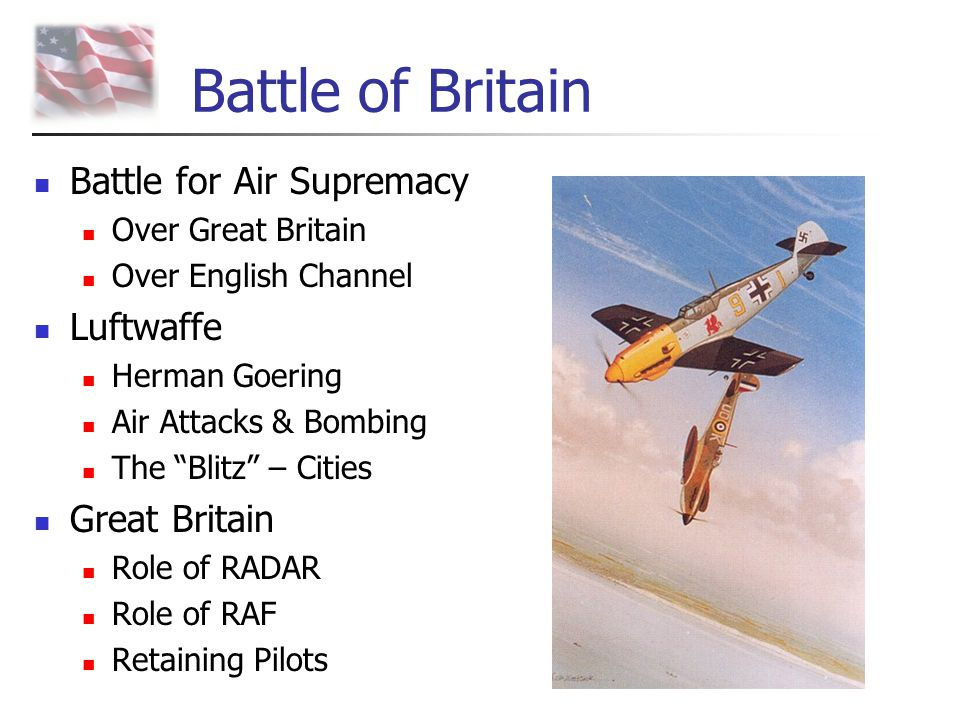 Battle of Britain Battle for Air Supremacy Luftwaffe Great Britain