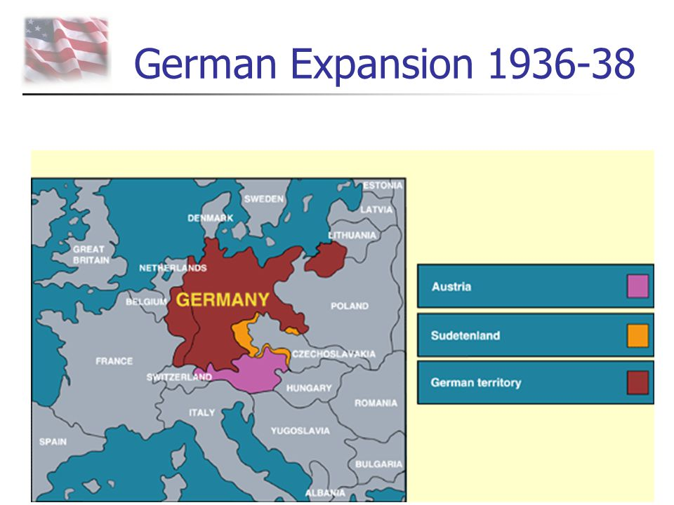 German Expansion 1936-38