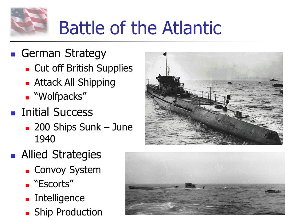 Battle of the Atlantic German Strategy Initial Success