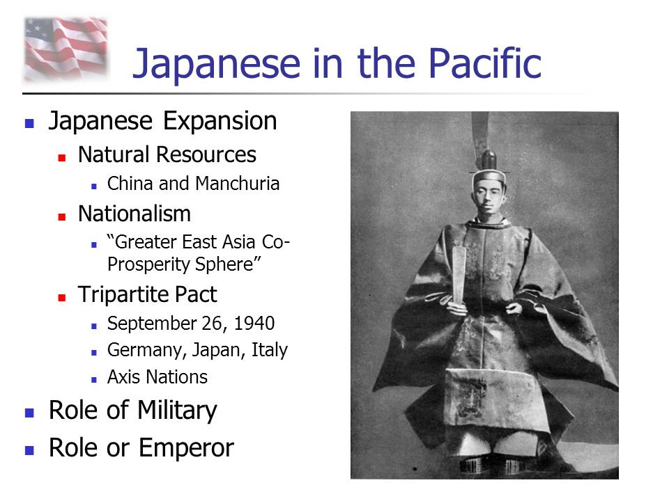 Japanese in the Pacific