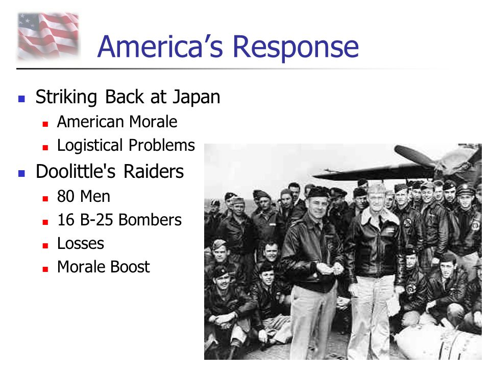 America's Response Striking Back at Japan Doolittle s Raiders