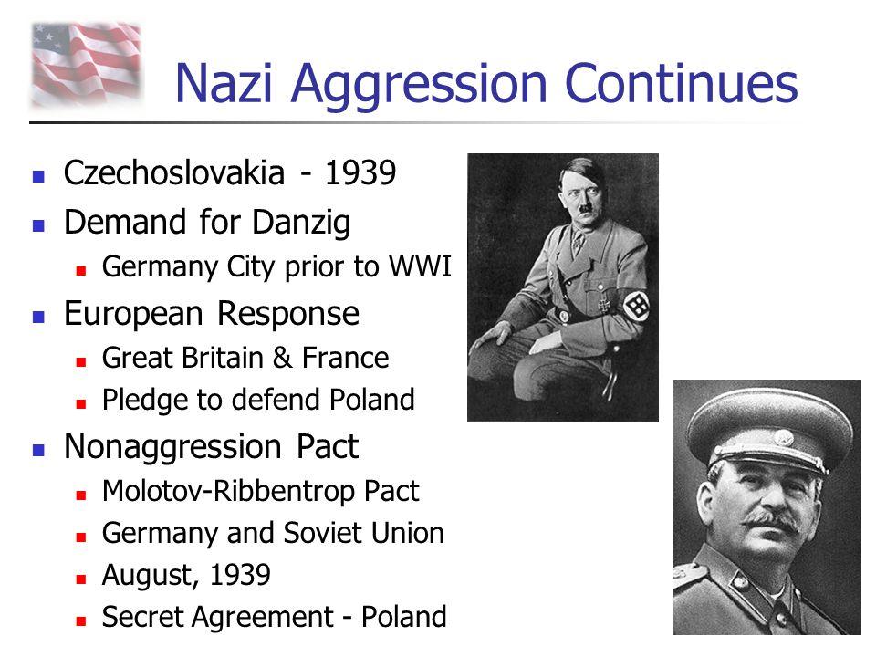 Nazi Aggression Continues