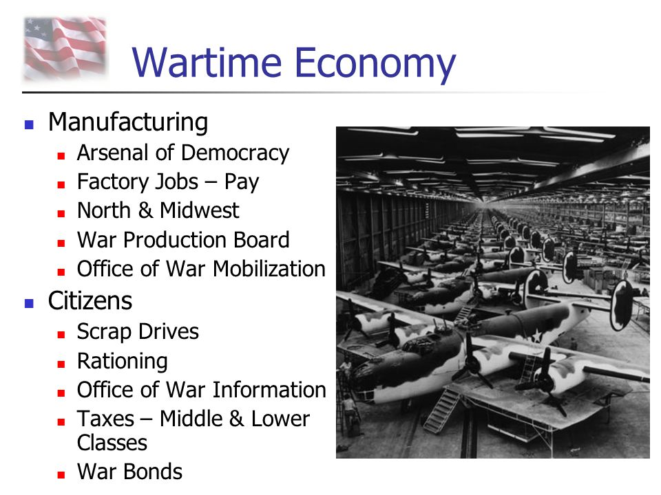 Wartime Economy Manufacturing Citizens Arsenal of Democracy