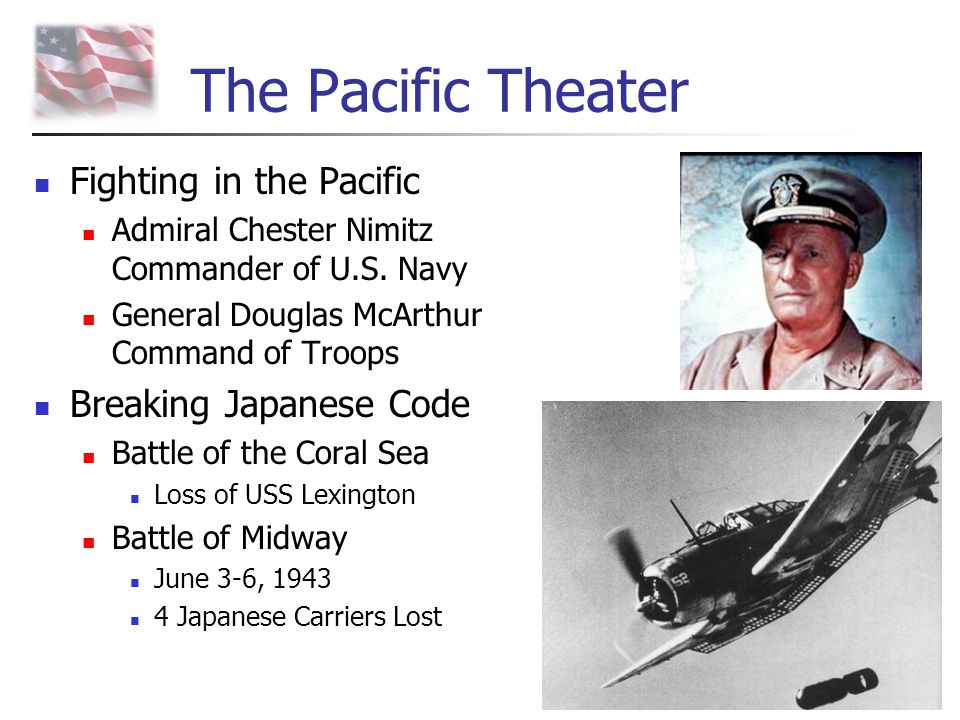 The Pacific Theater Fighting in the Pacific Breaking Japanese Code