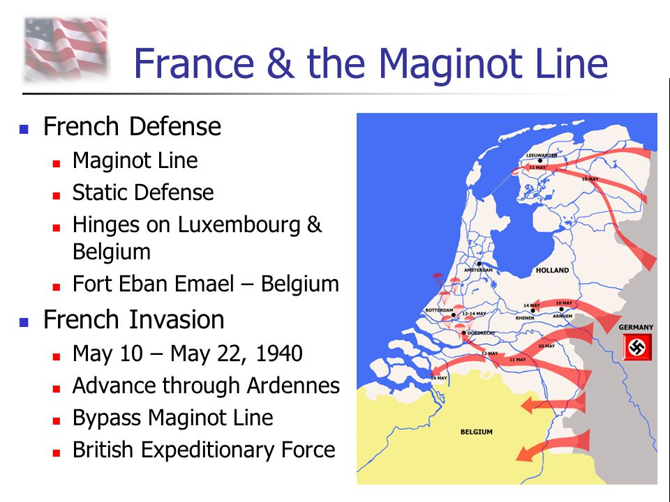 France & the Maginot Line