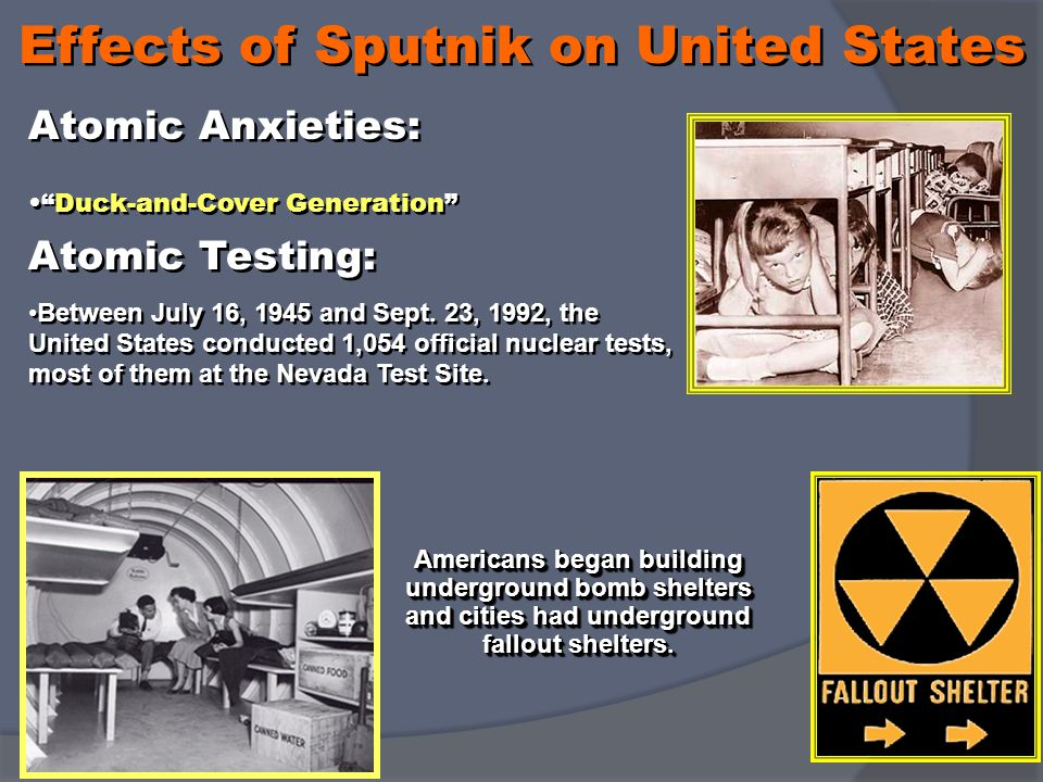 Effects of Sputnik on United States