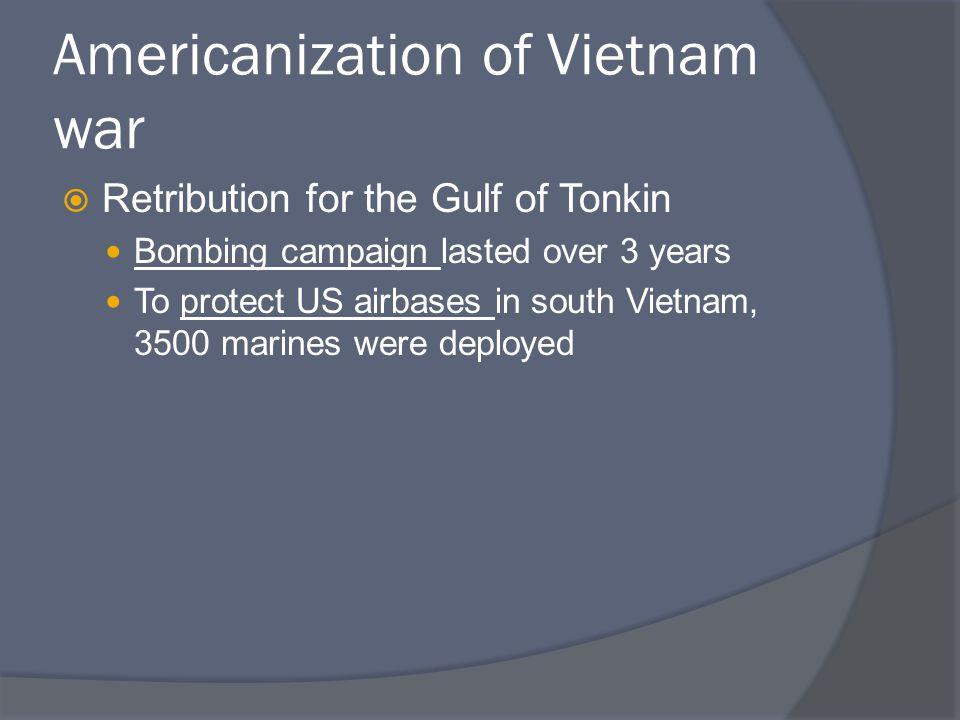 Americanization of Vietnam war