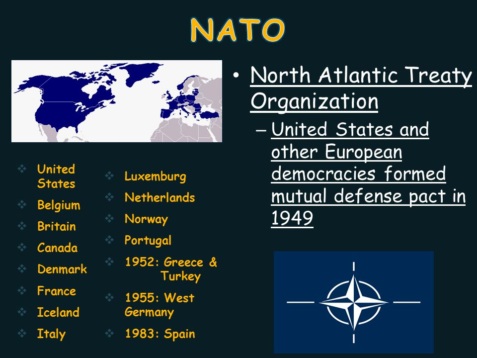 NATO North Atlantic Treaty Organization