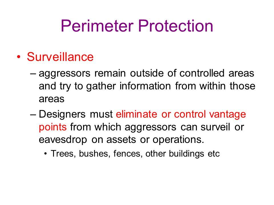 Perimeter Protection Surveillance