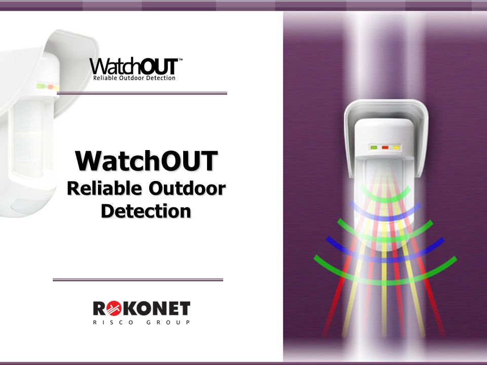 WatchOUT Reliable Outdoor Detection