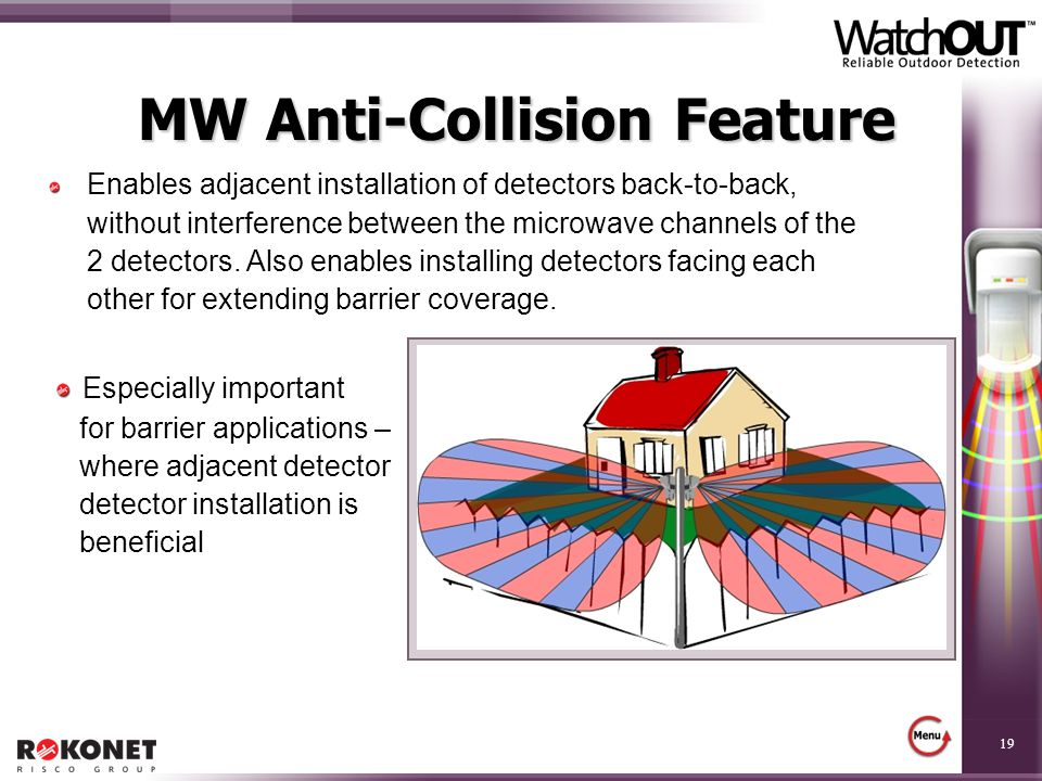 MW Anti-Collision Feature