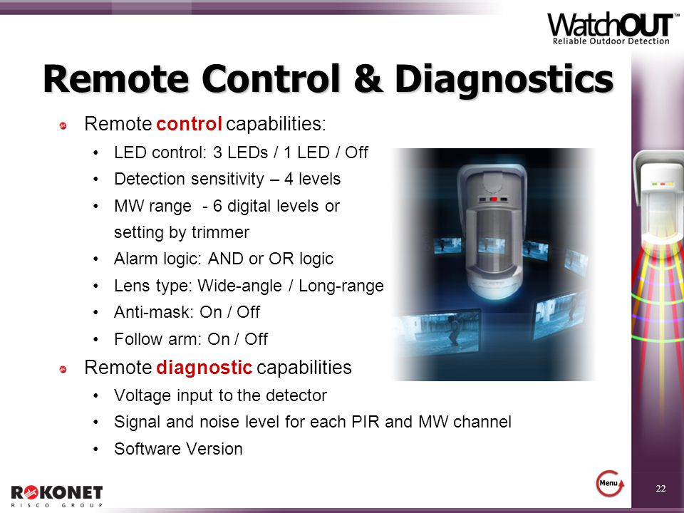 Remote Control & Diagnostics