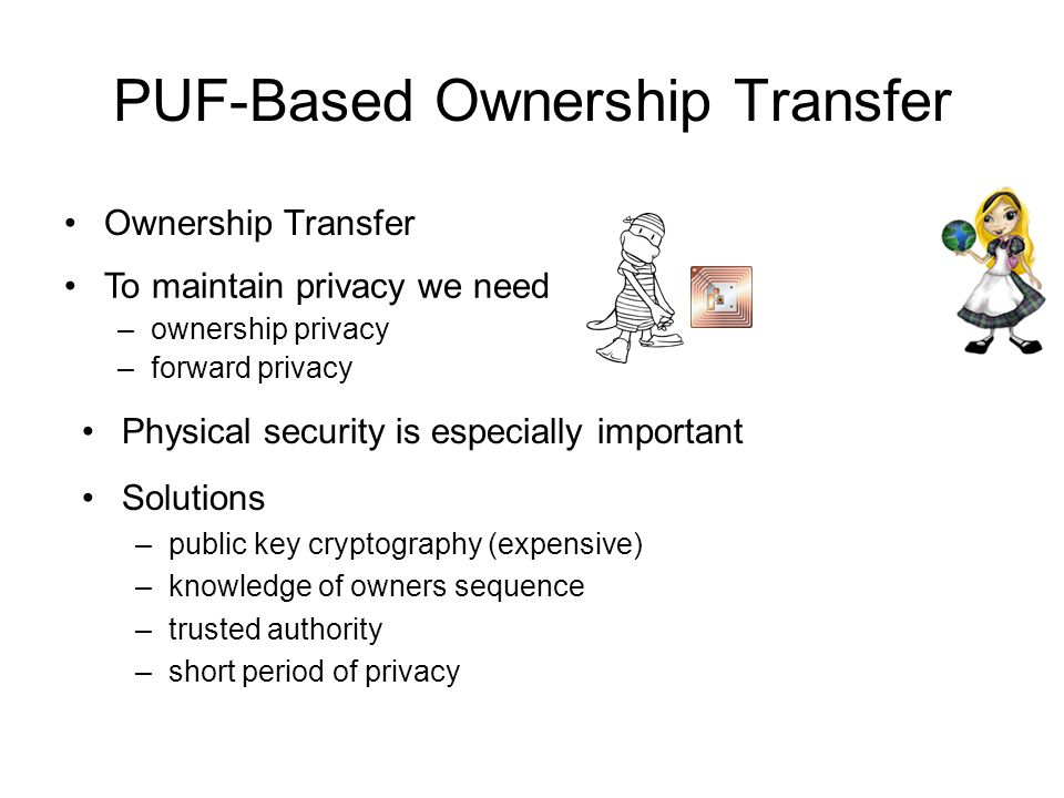 PUF-Based Ownership Transfer
