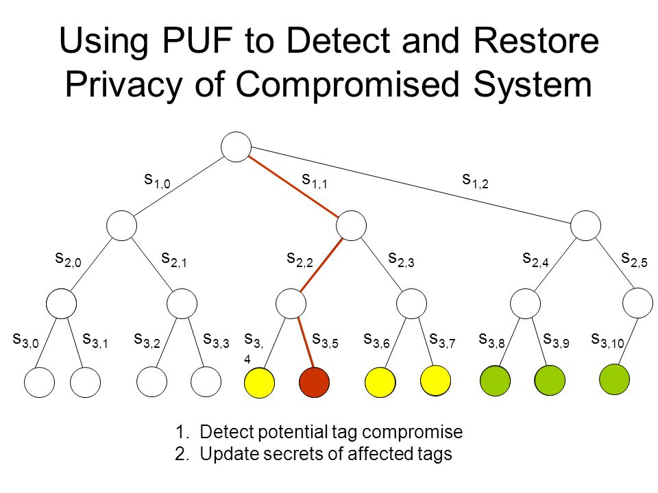 Using PUF to Detect and Restore Privacy of Compromised System