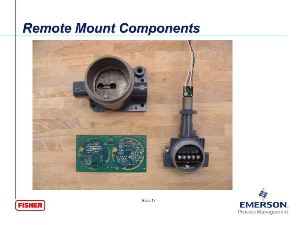 Remote Mount Components