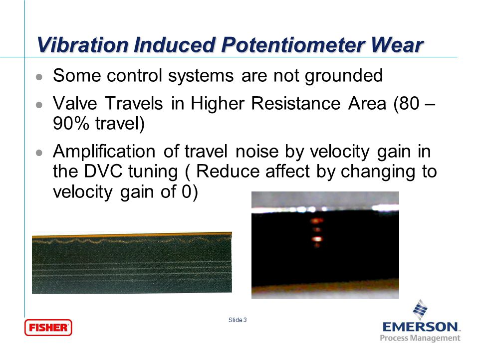Vibration Induced Potentiometer Wear