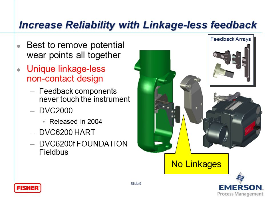 Increase Reliability with Linkage-less feedback