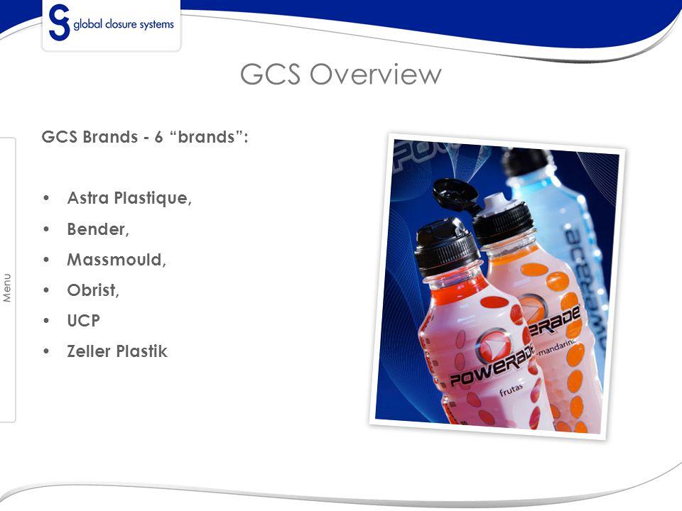 GCS Overview GCS Brands - 6 brands : Astra Plastique, Bender,