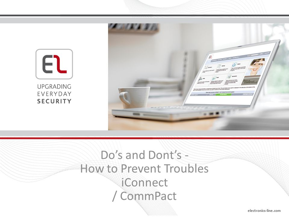 Do's and Dont's - How to Prevent Troubles iConnect / CommPact