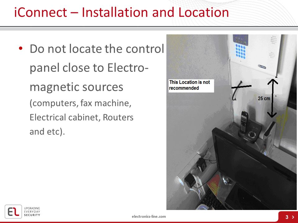 iConnect – Installation and Location