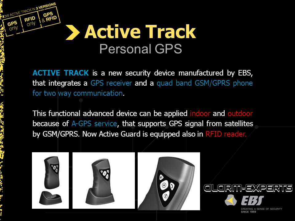 Active Track Personal GPS
