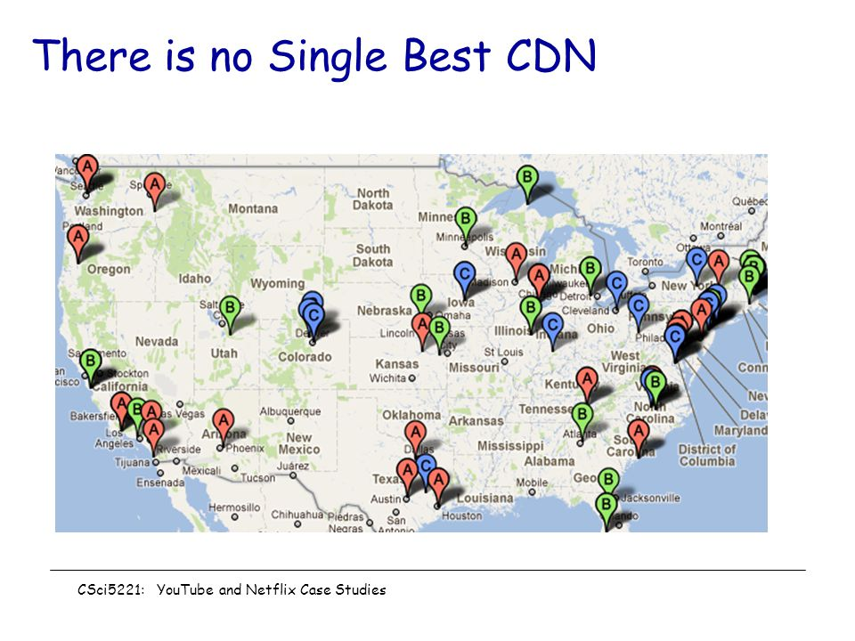 There is no Single Best CDN