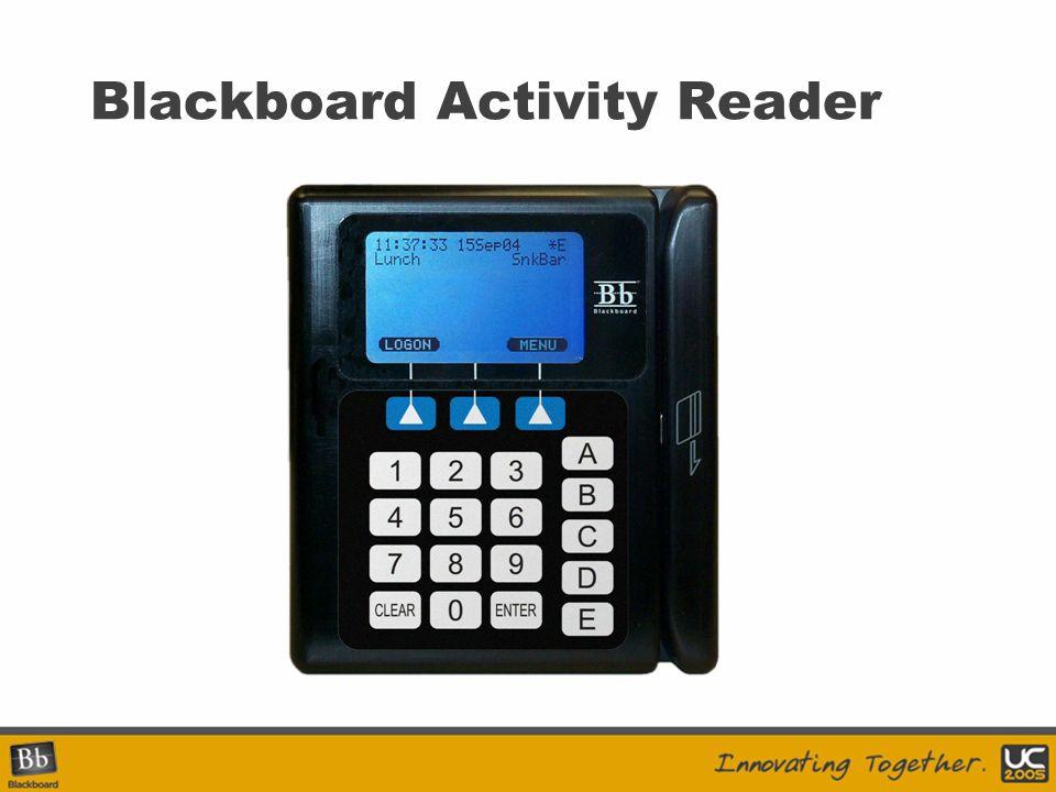 Blackboard Activity Reader