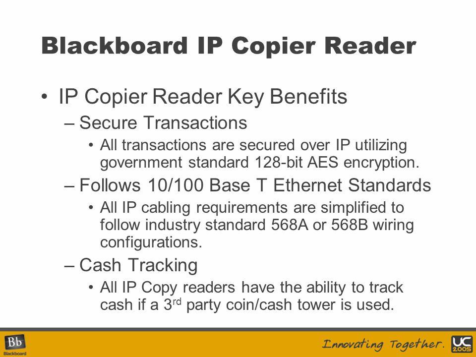 Blackboard IP Copier Reader
