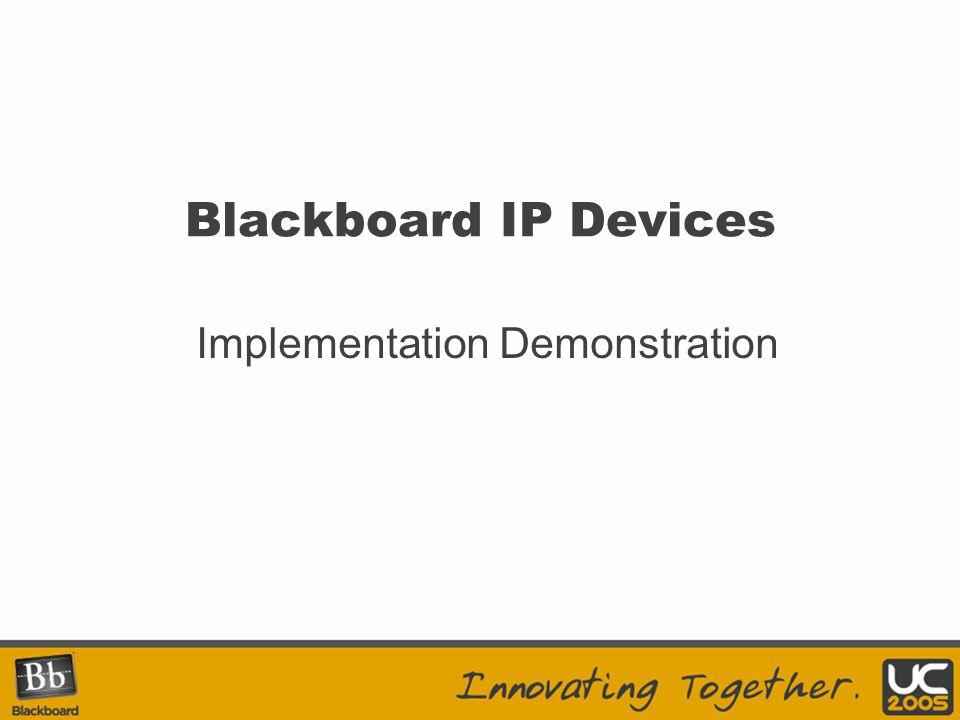Implementation Demonstration