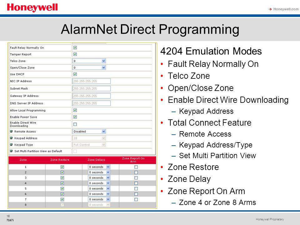 AlarmNet+Direct+Programming 7847i internet communication module ppt download  at nearapp.co